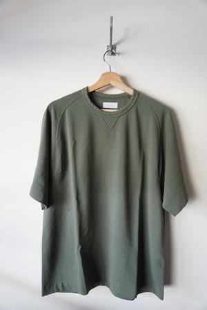 Fine Gauge Freedom Sleeve Sweat Shirt [ Khaki ]