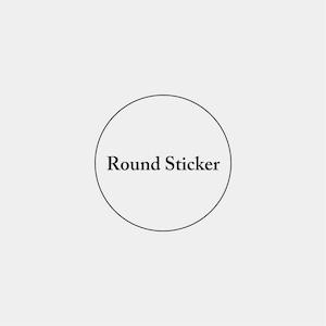 Round Sticker_円形ステッカー_30mm_300枚