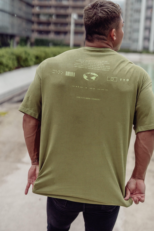 XENO UNIVERSAL CONCEPT T-shirt LightGreen