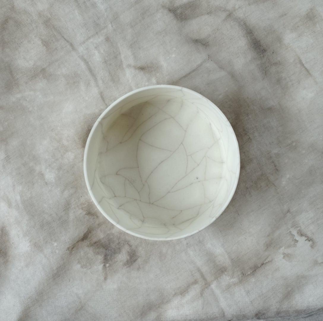 陶胎籠鉢 M / 塚崎愛