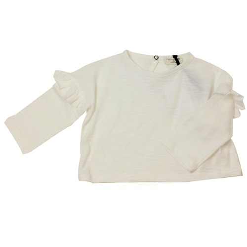 1+in the family フリル長袖Tシャツ(24m)