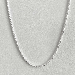 【SV1-52】20inch silver chain necklace