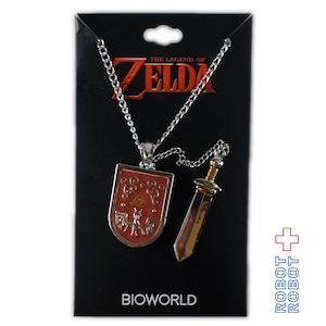 ゼルダの伝説 勇者の盾とリンクの剣のネックレス