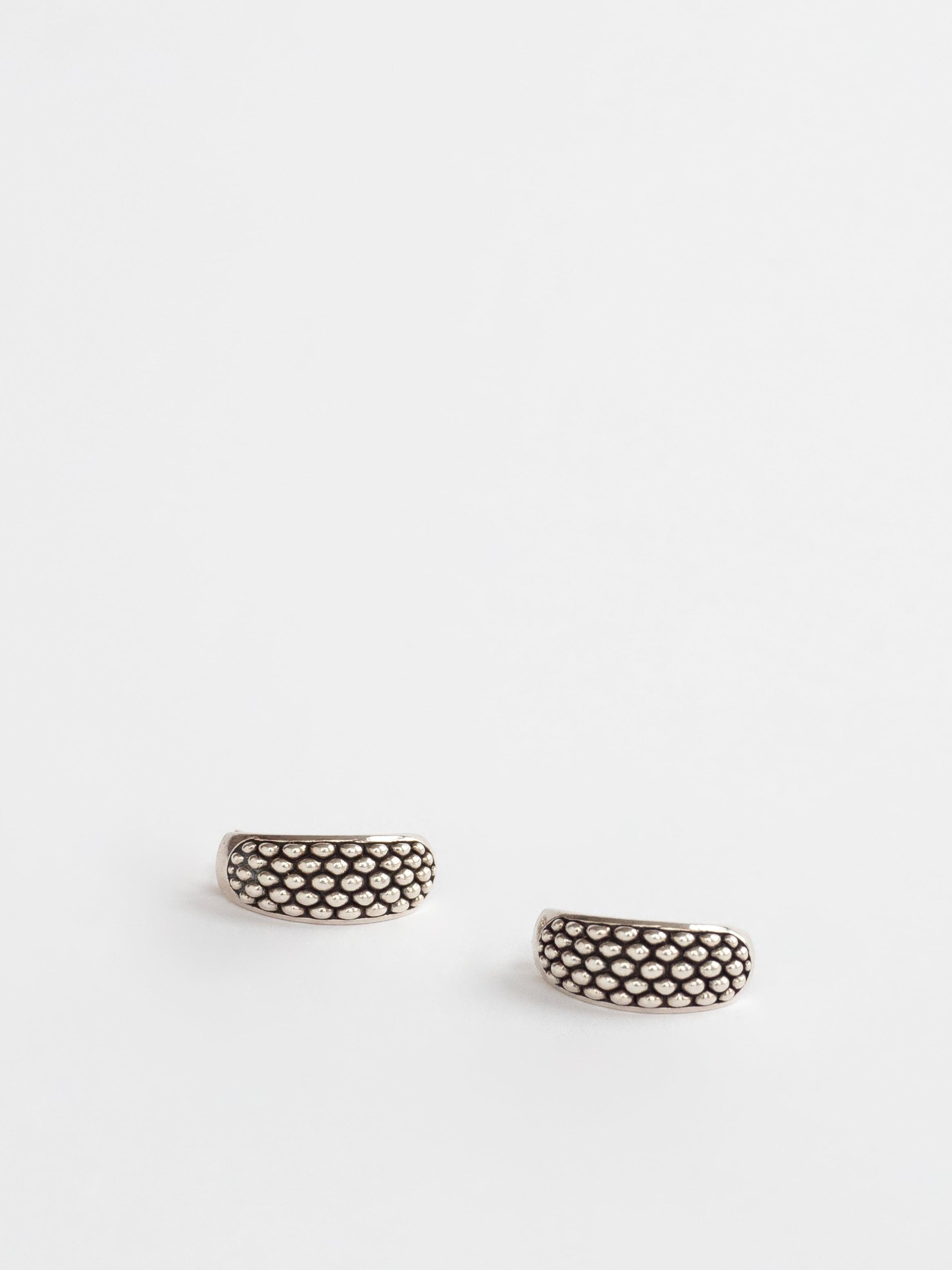 Dot Hoop Pierced Earring / Carol Felley
