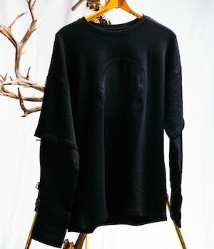 JOE CHIA - Mens knitted double layered sweater - TS03