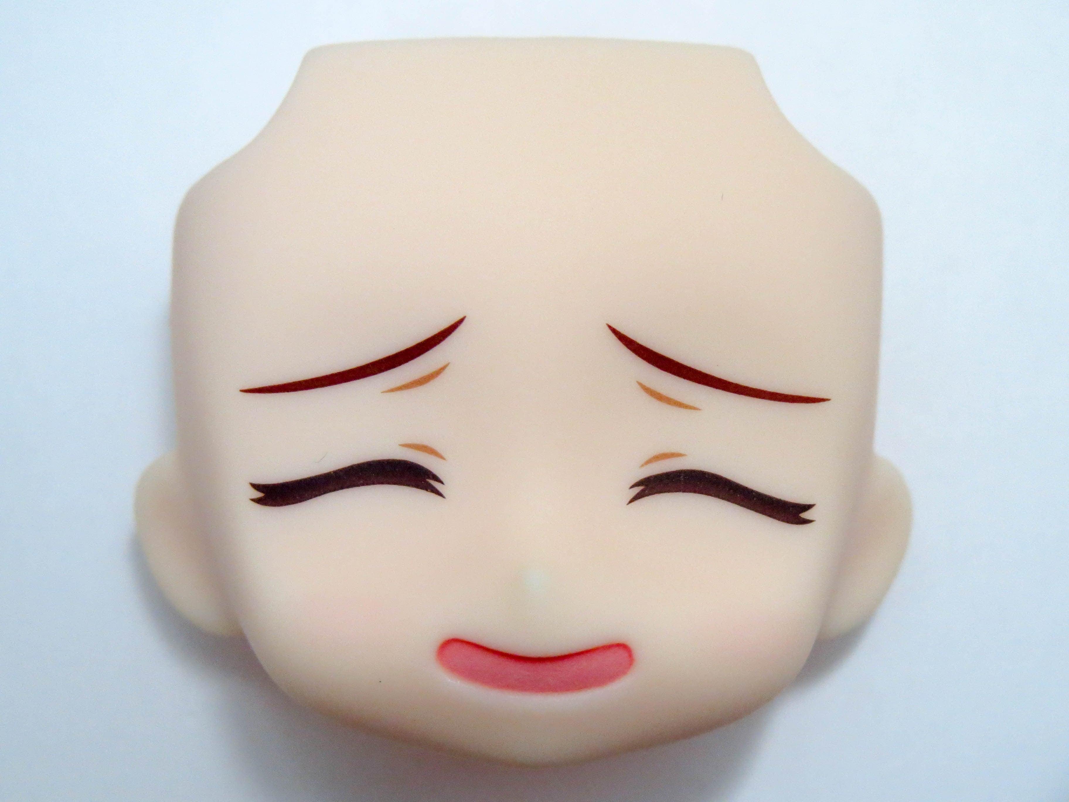 【412】 秋山優花里 顔パーツ にやけ顔 ねんどろいど
