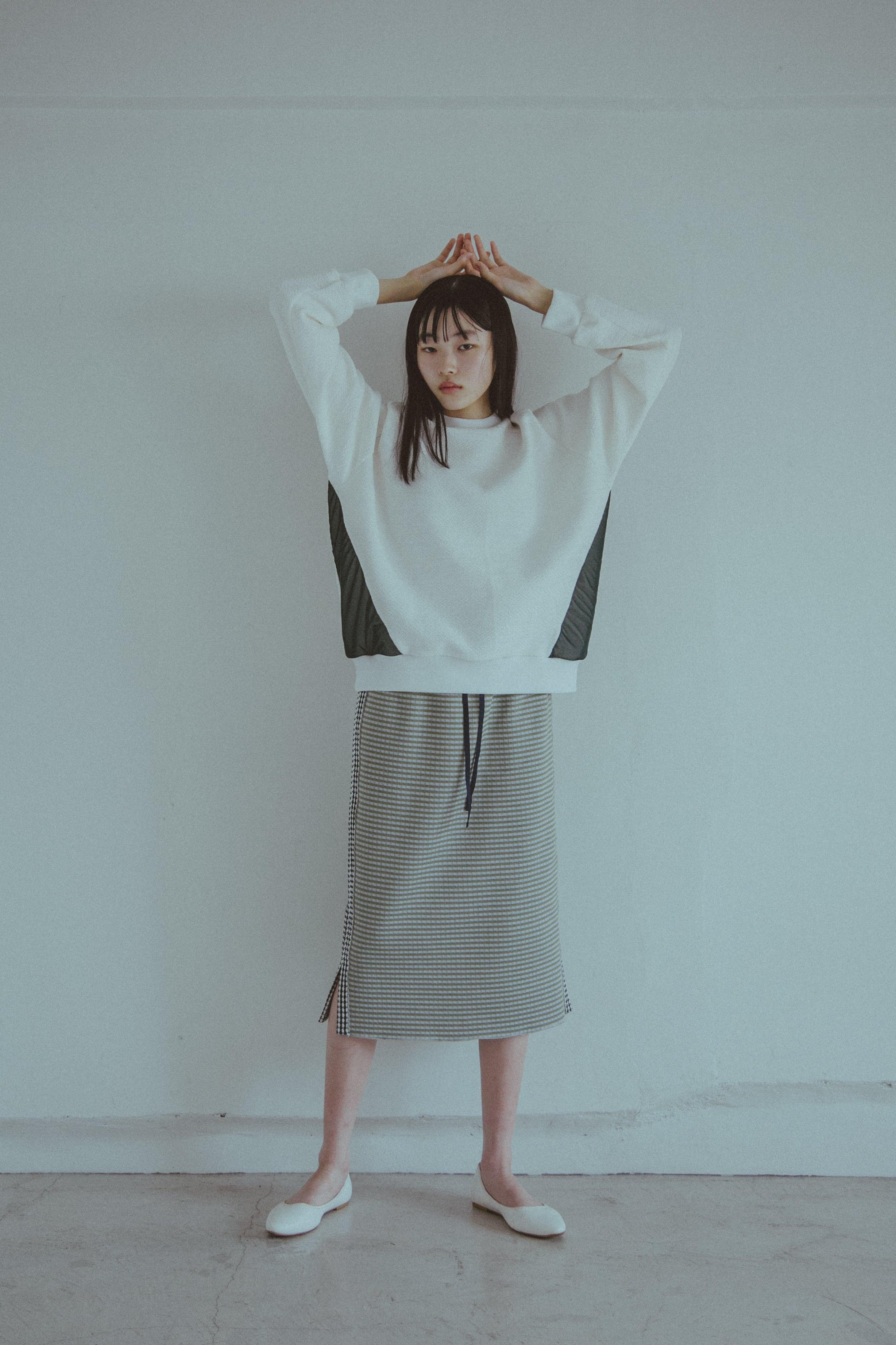 【受注】StSr YUKI SHIMANE Raglan sweat pullover