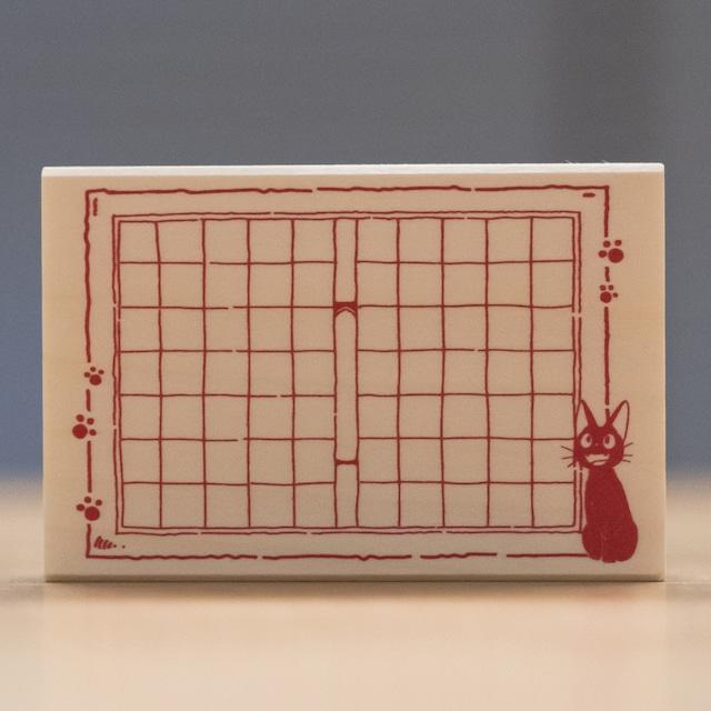 魔女の宅急便 木製スタンプ 90×60(原稿用紙/7918)