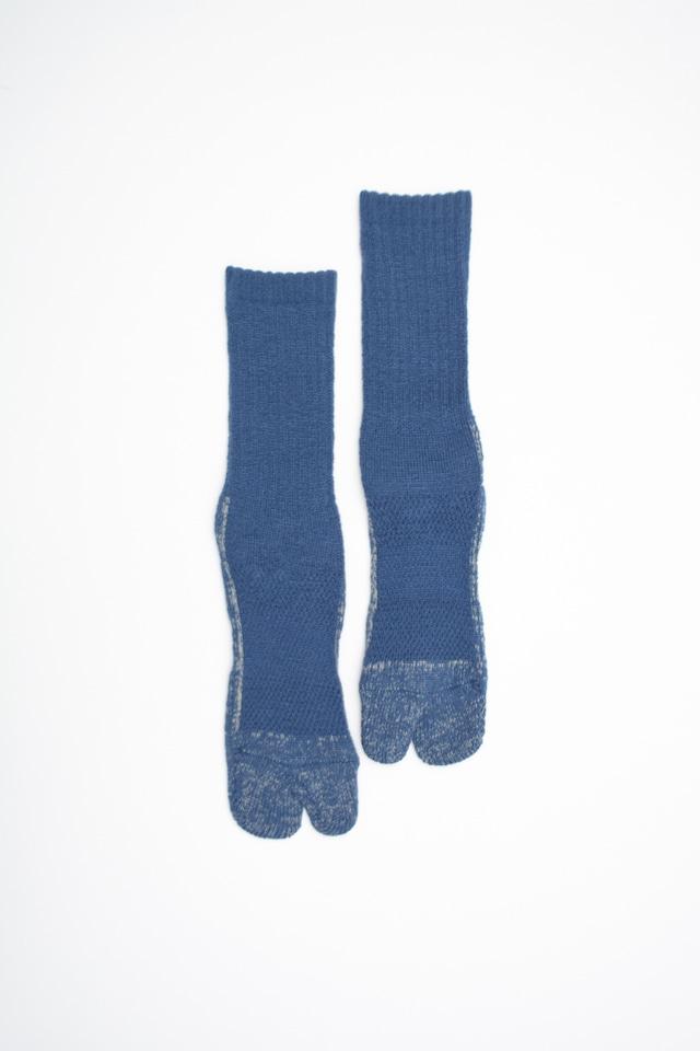 84N Wool Long  Socks(Navy)