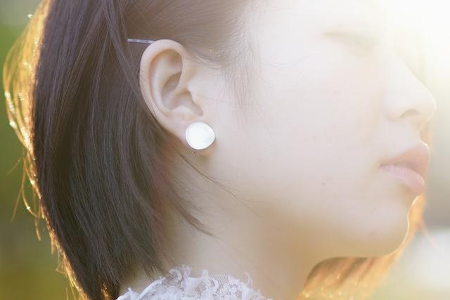 月明かりのイヤリング_Moonlight
