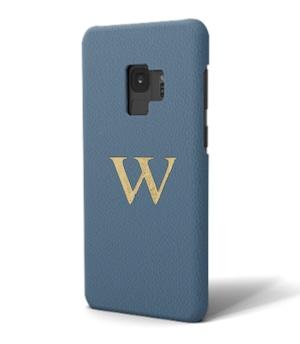Galaxy Premium Smooth Leather Case (Capri Blue)