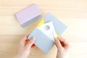 五箇山和紙の名刺入れ(カードケース)  FIVE