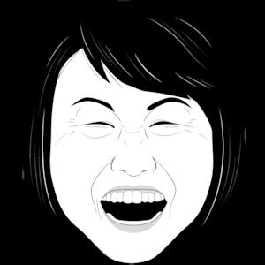 笑顔のシニア女性③