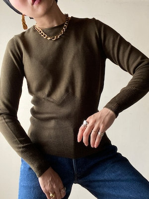 Design Light Knit Top