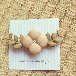 sunawo na katachi 帯留 クラリスの花飾り