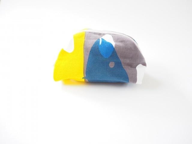 ケイコロール  ポーチ Mサイズ 「飛び石とニシン」