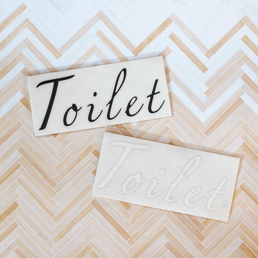 NEW!トイレステッカー Toilet Sticker スタイリッシュ