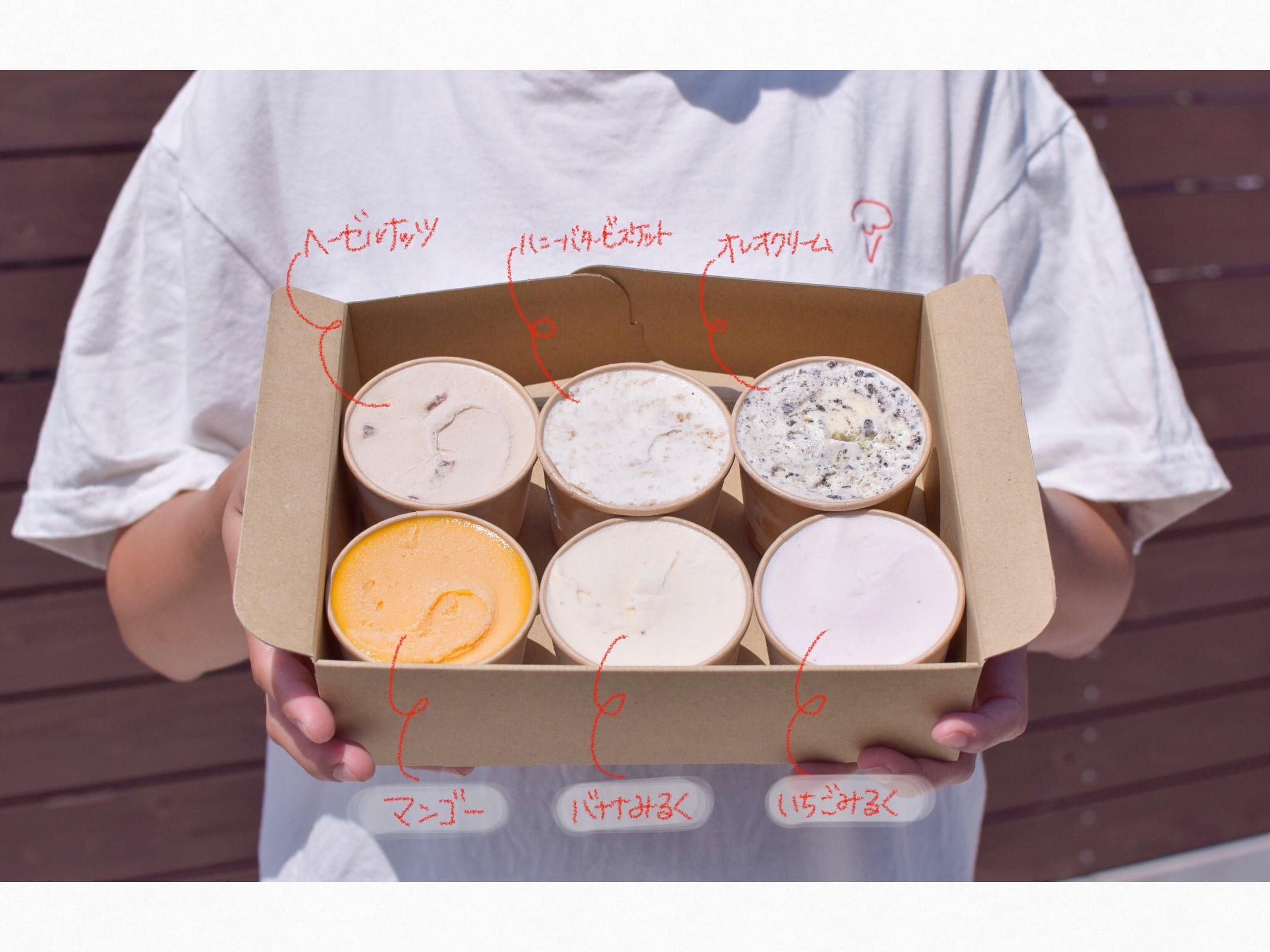 icecream box 8月便✈︎