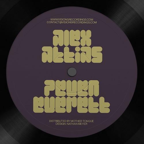 """【12""""】Alex Attias & Peven Everett - Love Dimension"""