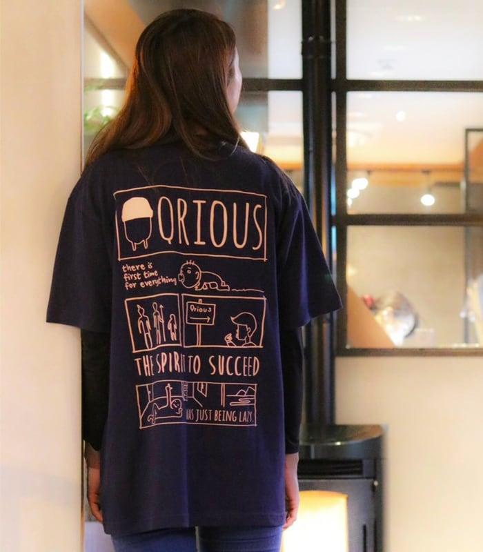 バックプリントTシャツ | M-L-XL-size