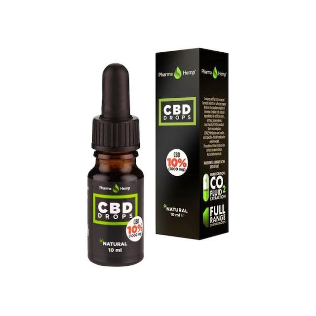 PharmaHemp フルスペクトラム CBDオイル 10% ヘンプ
