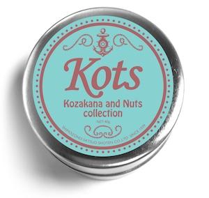 Kots コザカナ&ナッツコレクション 缶
