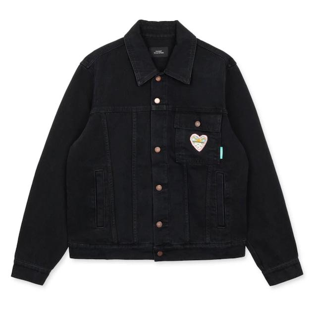 Rassvet Woven Denim Jacket Black