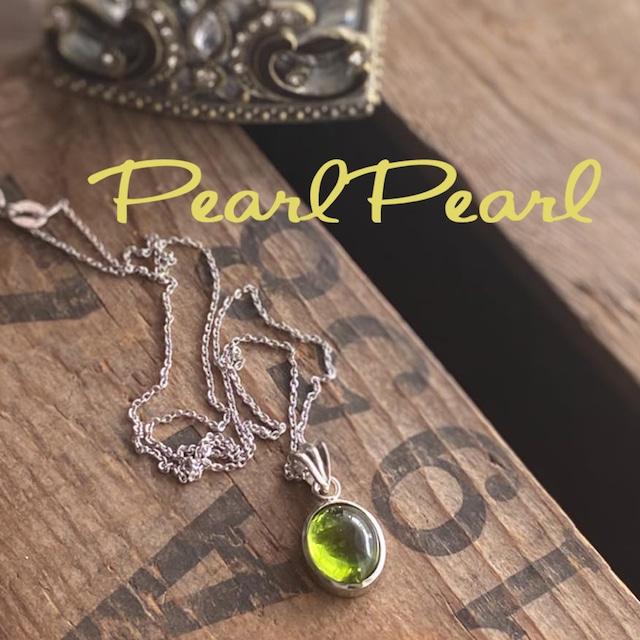 8月の誕生石 ペリドット ペンダントTOP ネックレス