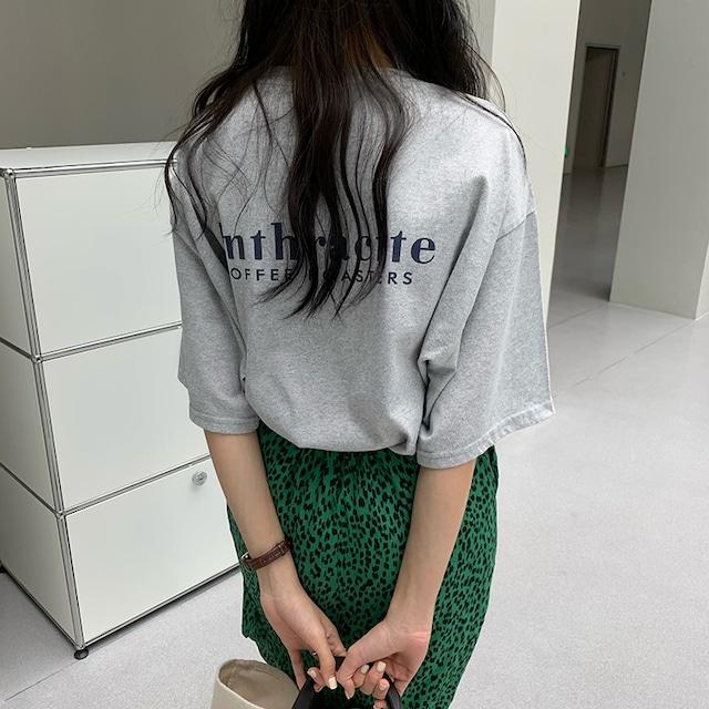 ルーズプリントTシャツ