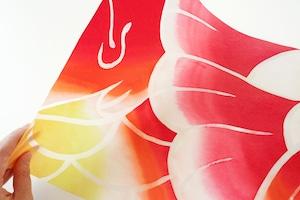 灯りの紙 −金魚/大判−