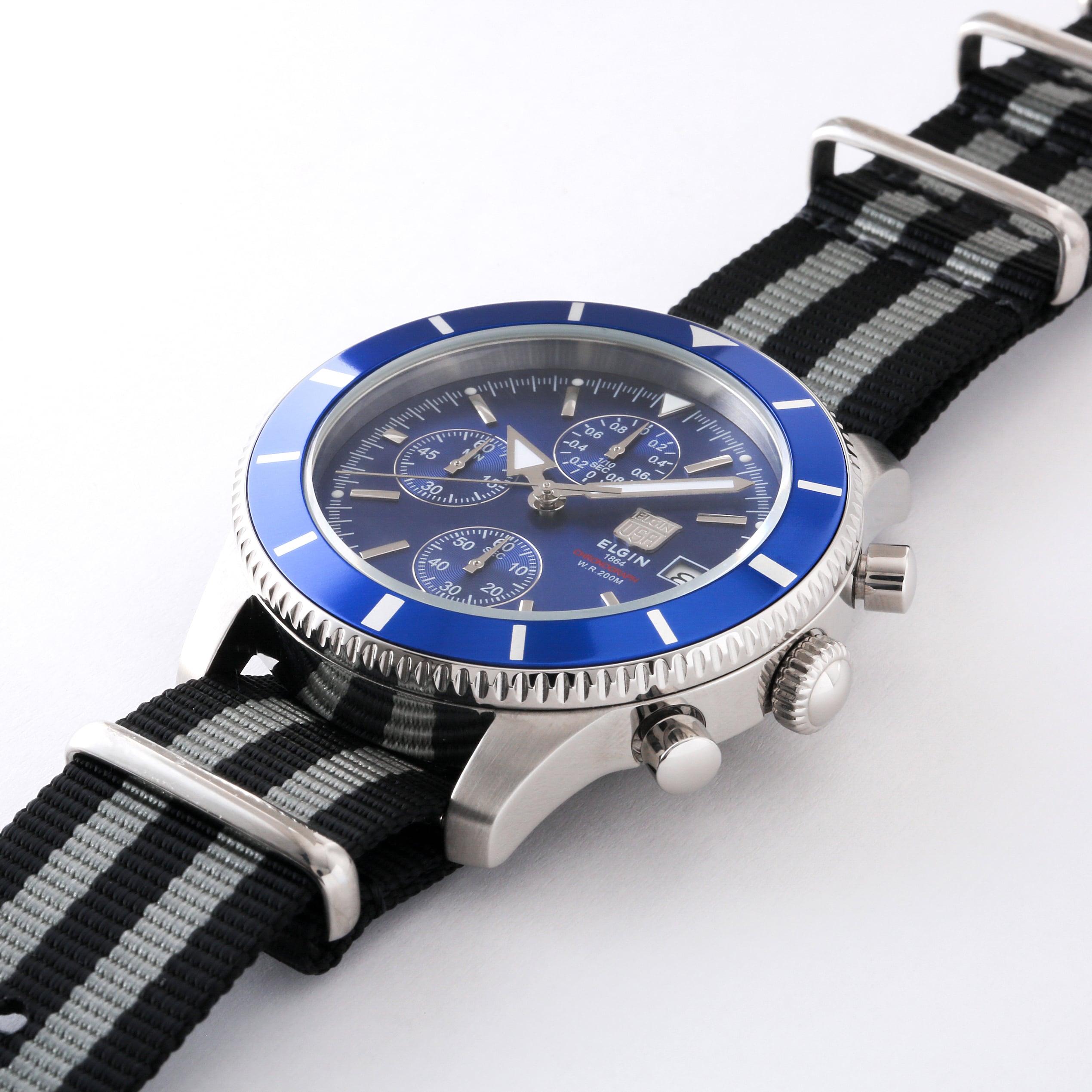 200M防水&機能的な腕時計 C004