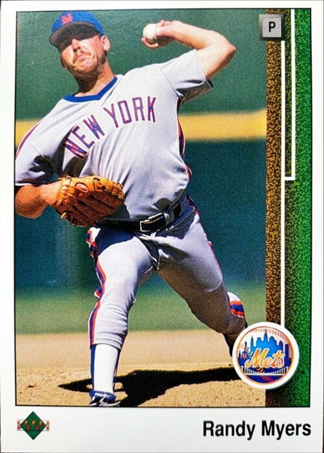 MLBカード 89UPPERDECK Randy Myers #634 METS
