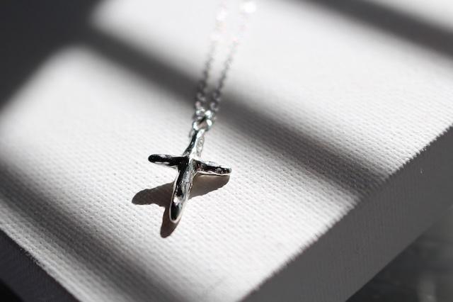 Vo.02 【CROSS】×  chain necklace  × 925silver