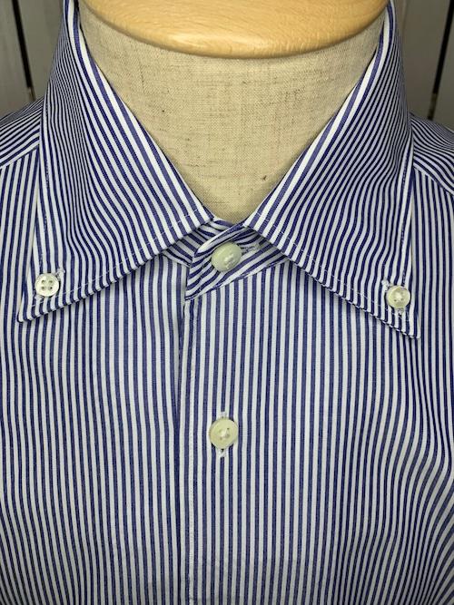 シャツ(単品)Mサイズ ボタンダウン ロンドンストライプ