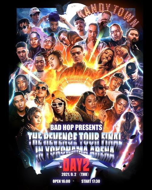 BAD HOP THE REVENGE TOUR FINAL DAY2  TICKET
