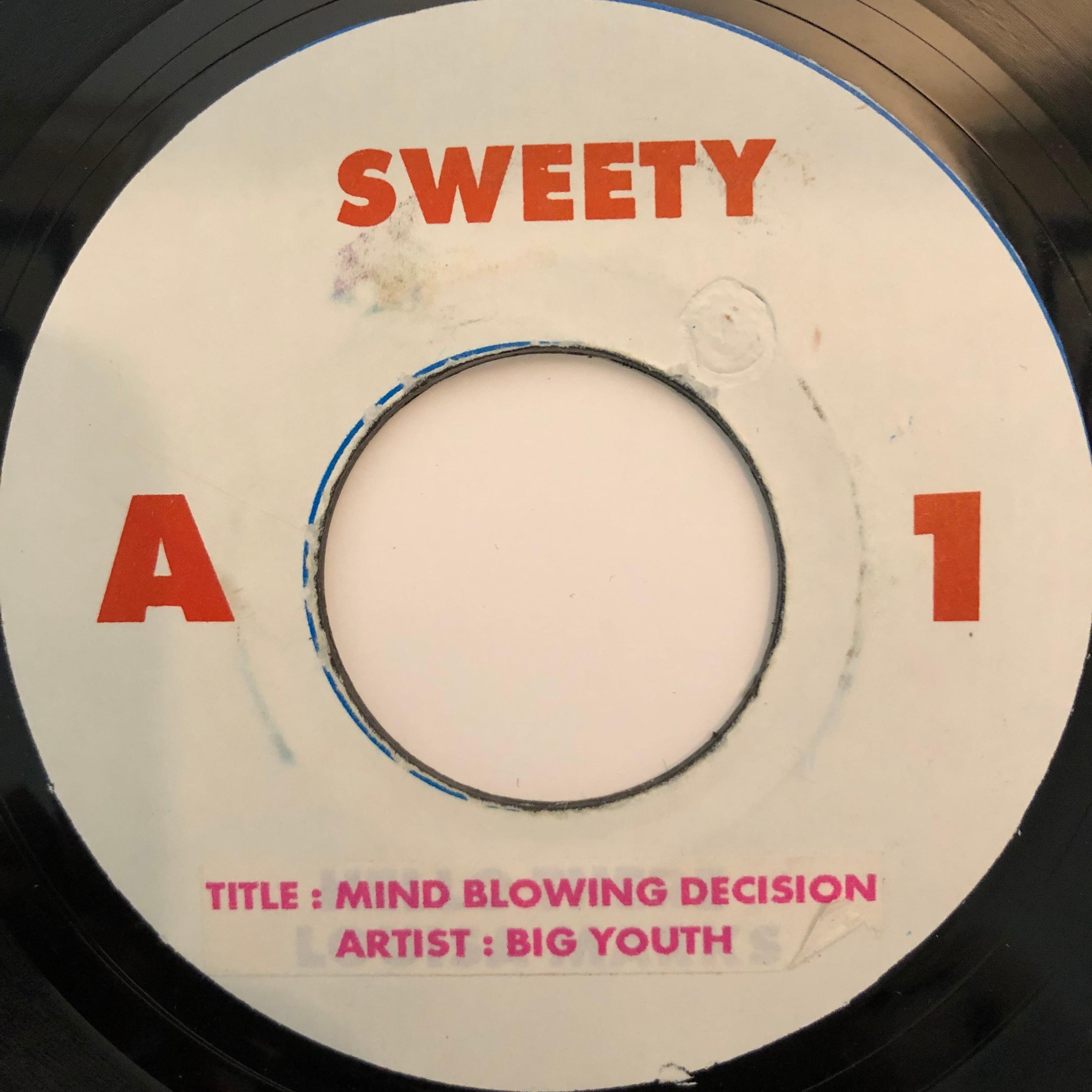 Big Youth(ビッグユース) - Mind Blowing Decision【7-20302】