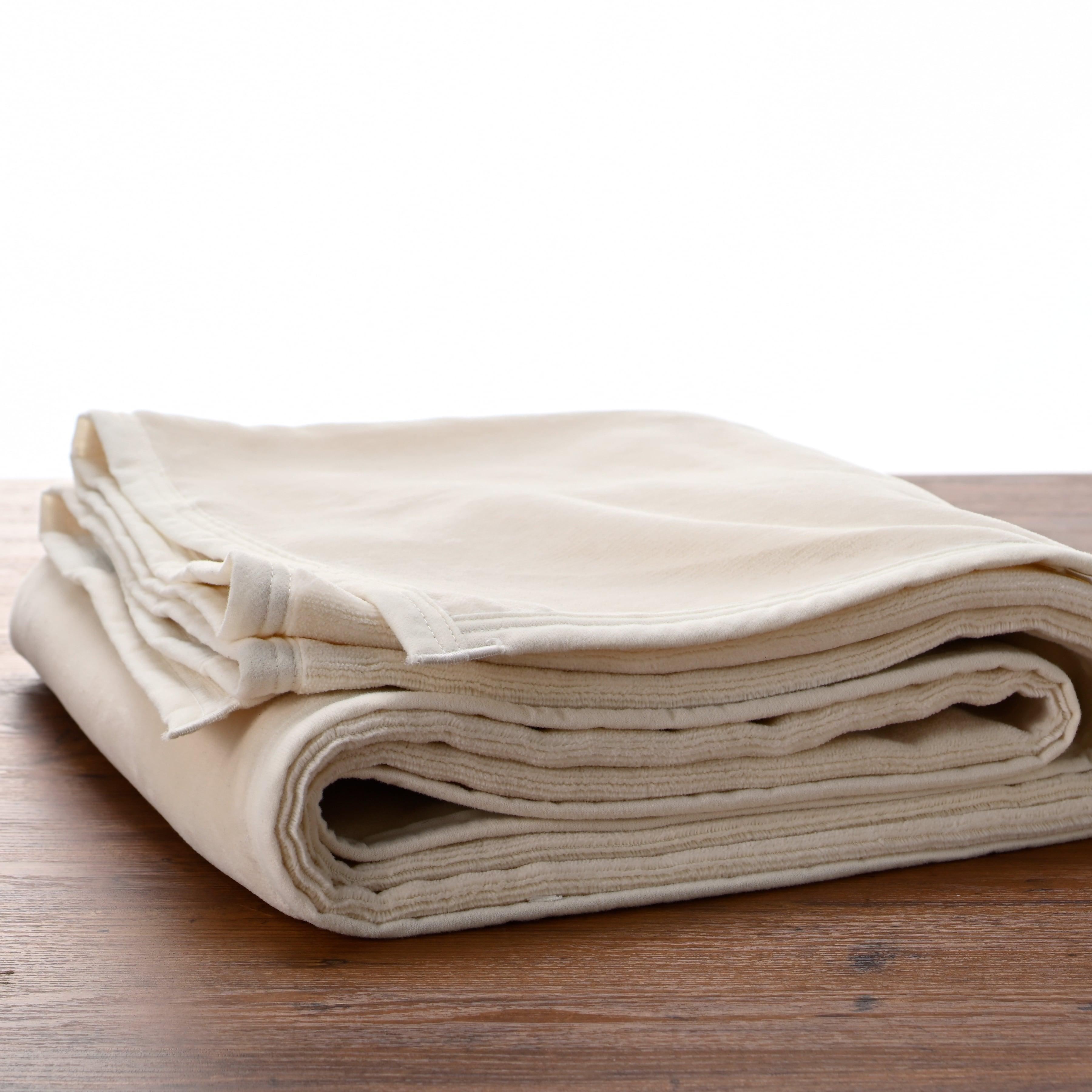170-秋冬のやわらか綿毛布シーツ 【Pureシーツ】 (170×200cm)