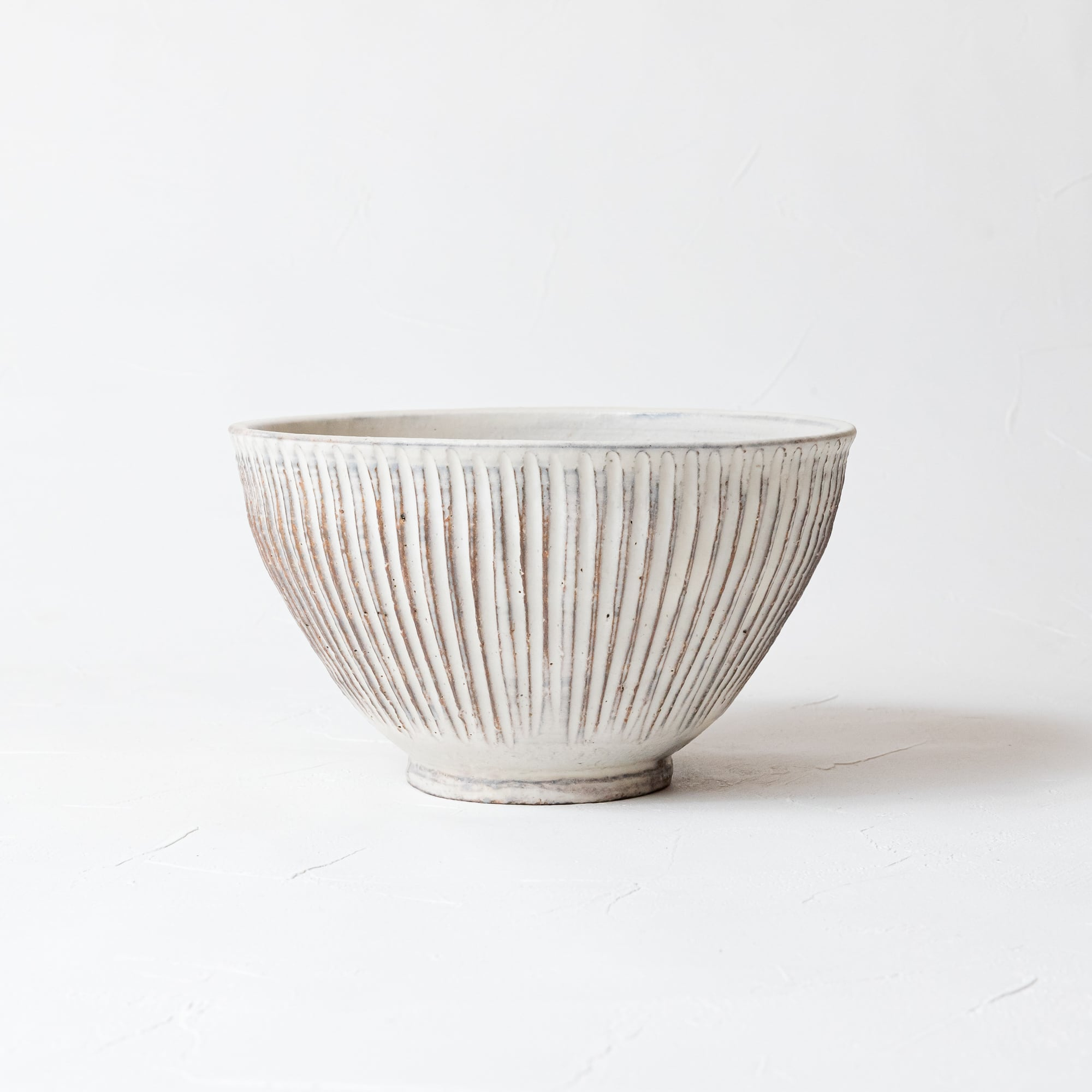 [大原拓也]鎬丼(粉引)