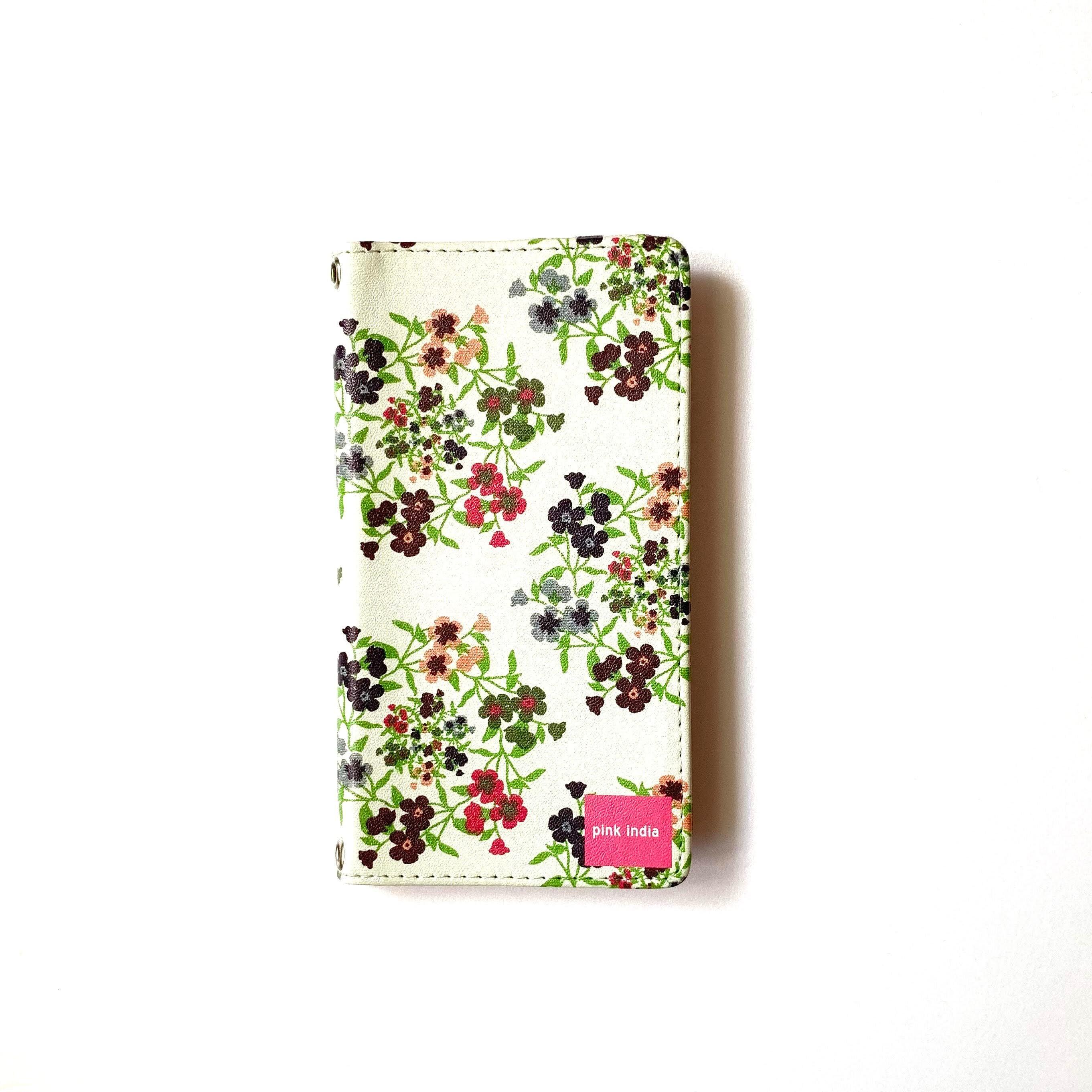 北欧デザイン 手帳型スマートフォンケース [ベルトなし] | iPhone6/7/8/SE(第二世代)兼用 | frida