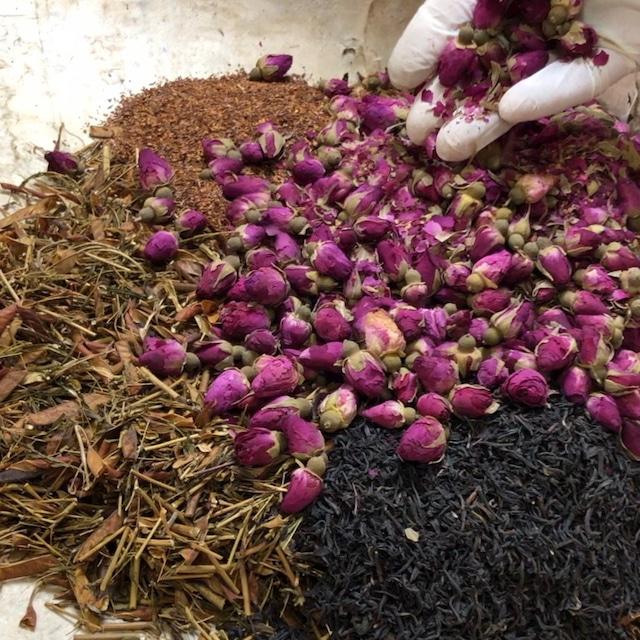 【ざら茶ローズブレンド】茶葉丨50g