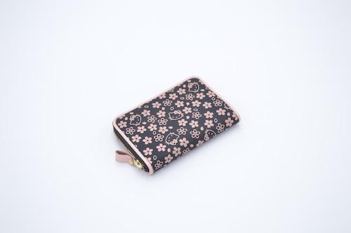 キティ印傳 GF角型財布 桜柄