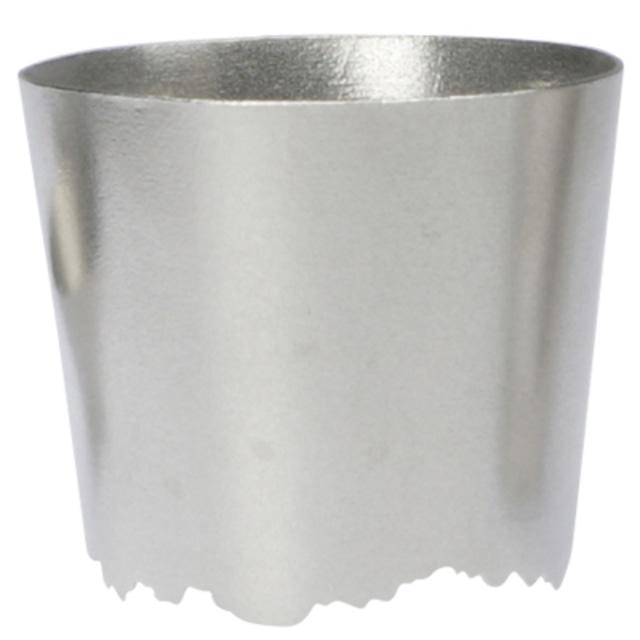 SHIKICOLORS SILVER ROCK CUP(錫の酒器)