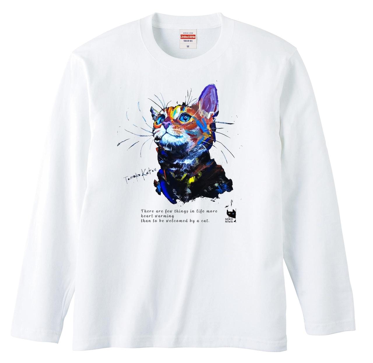 猫庭ロングスリーブ +TOMOKO KATOU model ■ Espoir エスポア 全国送料無料‼