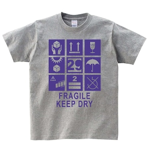 ダンボール Tシャツ メンズ レディース 半袖 シンプル ゆったり おしゃれ トップス グレー 30代 40代 ペアルック プレゼント 大きいサイズ 綿100% 160 S M L XL