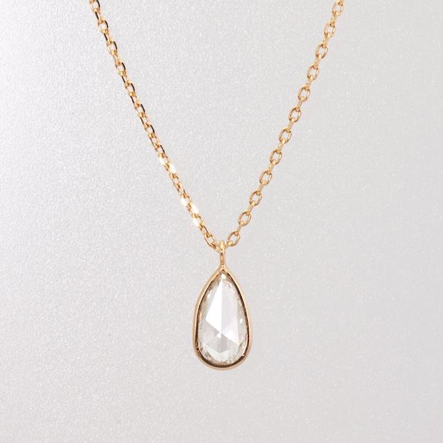 Rosecut diamond necklace / Drop