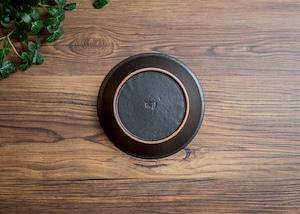 SHIROUMA 浅鉢 15cm 黒(シリアルボウル・グラタン皿・耐熱皿)/長谷川 哲也