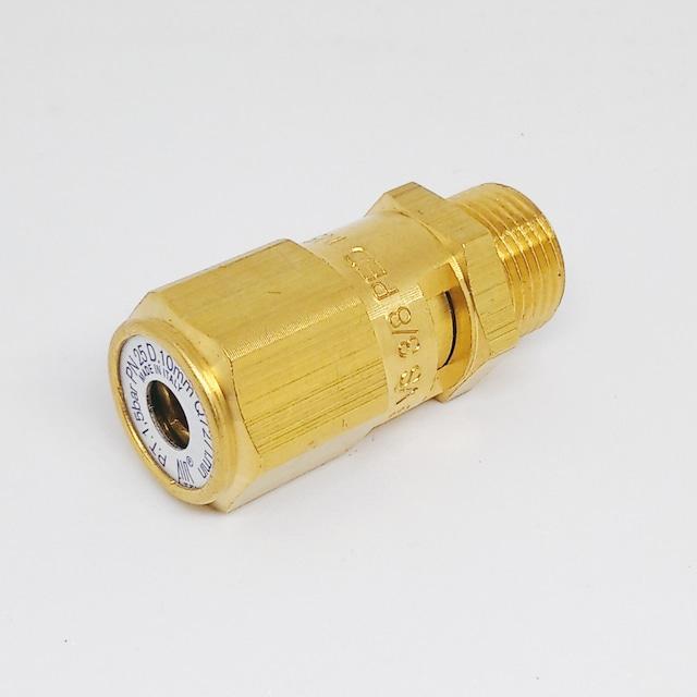セーフティバルブ ●ボイラー 安全弁 ø3/8 1.5気圧