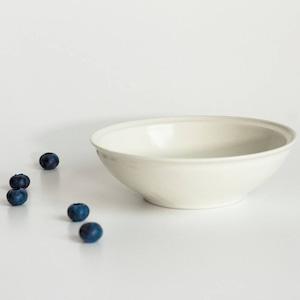 aito製作所 「シエル Ciel」きほんのうつわ 取り皿 とんすい 直径約14×深さ4.2cm ホワイト 美濃焼 520113