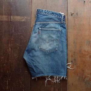 1960s ~ 70s Levi's 505 Cut Off Denim Shorts  / W36 リーバイス カットオフ ヴィンテージ #1
