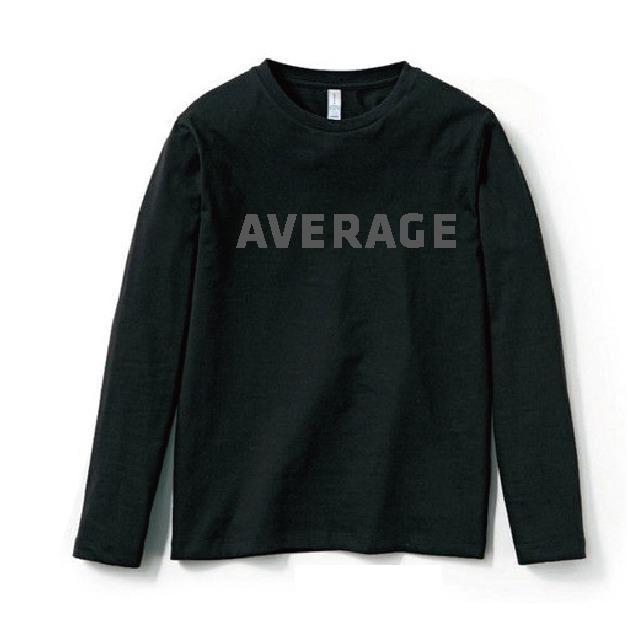 あ、安部礼司 平均的 ロングTシャツ(ブラック)